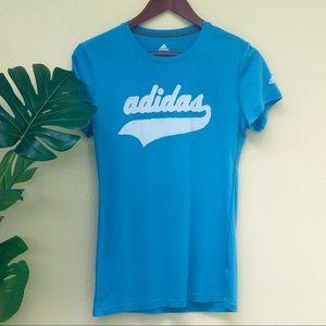 Adidas Climalite Blue t-shirt size Medium